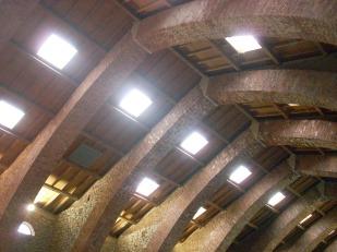 Interior. Edificio espectacular, antigua ferrería de San Blas