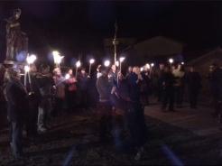 procesion noche