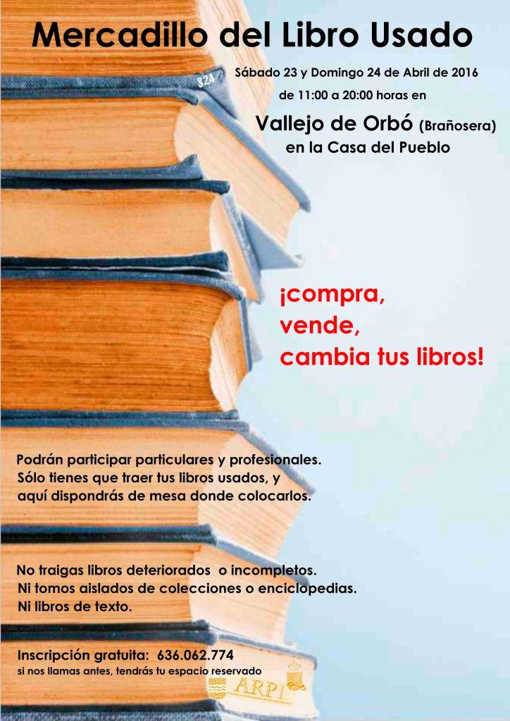 cartel Mercadillo del Libro Usado