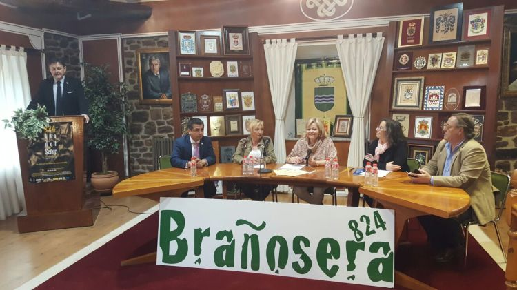 Presentación de escritores en Brañosera. Homenaje a Cervantes, Shakespeare, y al Inca Garcilaso